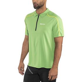 Gonso Henrik Polo de cyclisme Manches courtes Homme, fluorite green